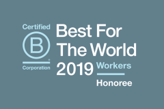 Republik est nommée sur la liste Best For The World 2019 de B Corp!