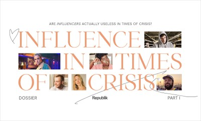 Are Influencers actually useless in times of crisis?