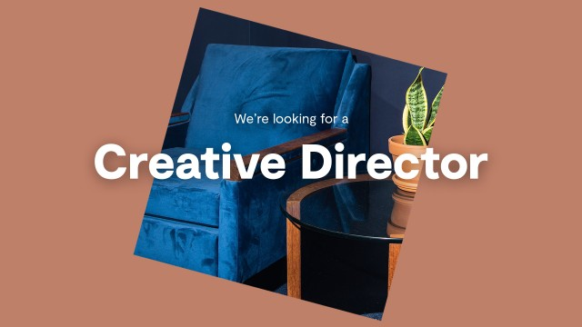 We are looking for a creative director
