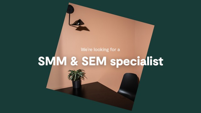 We are looking for a full-tim SMM & SEM specialist