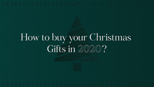 How to responsibly buy your Christmas gifts in 2020?