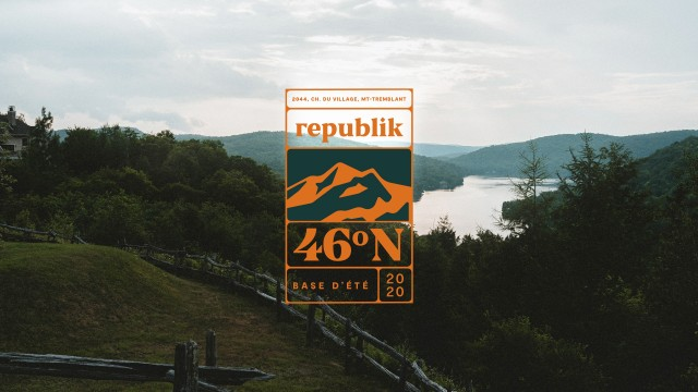 Republik opens 46N, a summer pop-up office in Mont-Tremblant