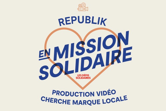 Republik takes up the solidarity challenge by offering a video production for a local brand