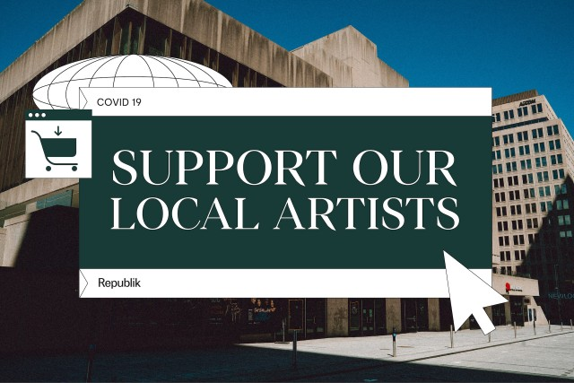 Buying local also means supporting our artists in times of crisis